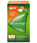 NICORETTE Gum Fresh Fruit 2mg