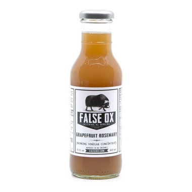 False Ox Grapefruit Rosemary Shrub Cocktail Mix