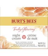 Burt's Bees Truly Glowing Replenishing Night Cream Moisturizer (Crème de nuit hydratante)