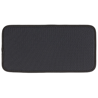 Envision Home Glassware Drying Mat Black