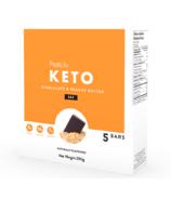 ProtiLife Keto Chocolat & Beurre de cacahuète boîte de barres Keto