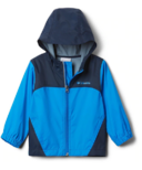 Columbia Toddler Glennaker Rain Jacket Hyper Blue Collegiate Navy