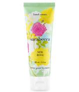 Sarabecca New Rose Hand Cream
