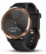 Garmin Vivomove HR Sport Black With Rose Gold