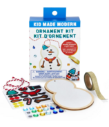 Kit de décoration de bonhomme de neige en bois moderne Kid Made