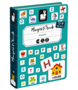 Janod Magnetibook Alphabet English
