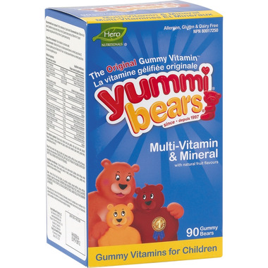 Yummi Bears Multi-Vitamin & Mineral