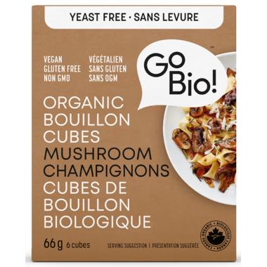 GoBIO! Organic Mushroom Bouillon Cubes