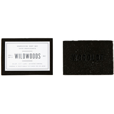 Woodlot Wildwoods Charcoal Soap Bar