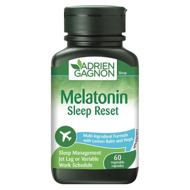 Adrien Gagnon Melatonin Sleep Reset