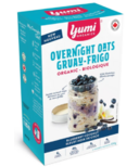 Yumi Organics Overnight Oats Blueberry Vanilla