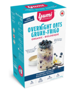 L'avoine myrtille vanille Nuit de Yumi Organics