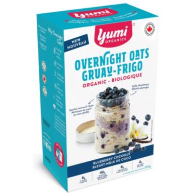 Yumi Organics Overnight Oats Blueberry Vanilla