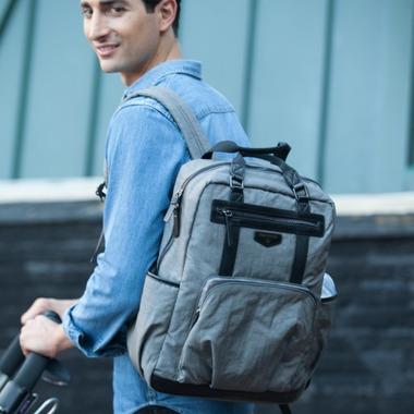 TWELVElittle Unisex Courage Backpack Grey