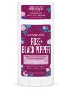Schmidt's Rose + Black Pepper Deodorant