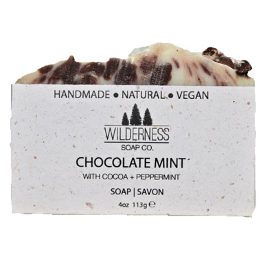Wilderness Soap Co. Chocolate Mint Soap