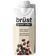 Brust Cold Brew Protein Coffee Light Roast