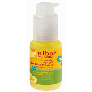 Alba Botanica Natural Hawaiian Revitalizing Green Tea Eye Gel