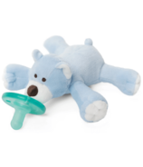 WubbaNub Blue Bear Plush Pacifier