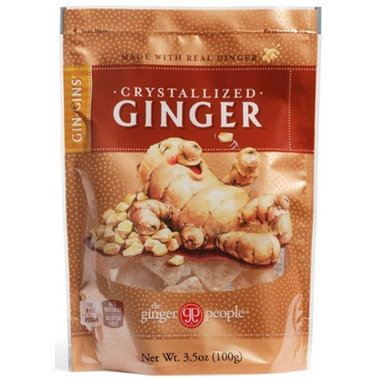 Gin Gins Crystallized Ginger Candy Bag