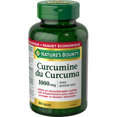 Nature\'s Bounty Turmeric Curcumin Plus Black Pepper