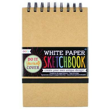 OOLY D.I.Y. Cover Sketchbook White