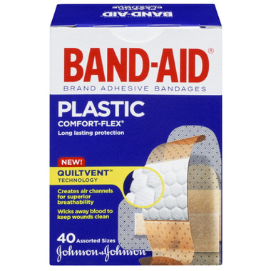 Band-Aid Plastic Comfort-Flex