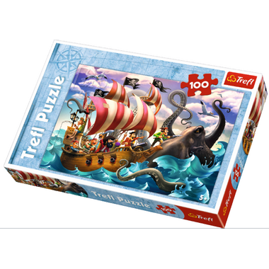 Trefl Puzzle Battle on the Sea