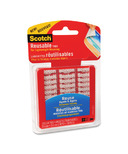 3M Scotch Reusable Clear Mounting Tabs