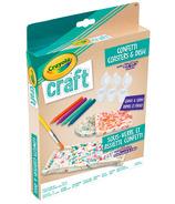 Crayola Craft Confetti Coasters & Dish Kit