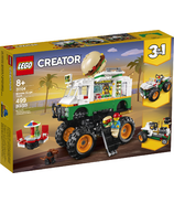 LEGO Creator 3-in-1 Monster Burger Truck Building Kit