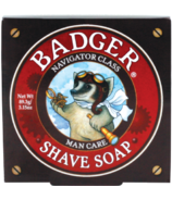 Badger Navigator Class Man Care Shaving Soap