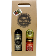 Chuck Hughes Giftbox Olive Oil, Mild Antipasto, Hot Pepper Spread