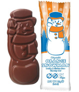Moo Free Dairy Free Snowman Chocolate Orange Bar