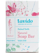 Lavido Natural Soap Bar Patchouli Vanilla