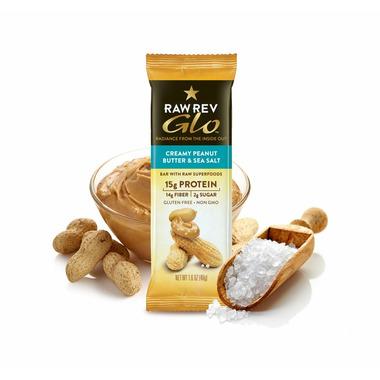 RAW REVOLUTION GLO-Creamy Peanut Butter & Sea Salt