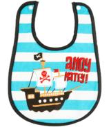 Little Blue House Infant Coated Bib Pirates