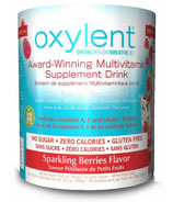 Oxylent Sparkling Berries Canister Powder