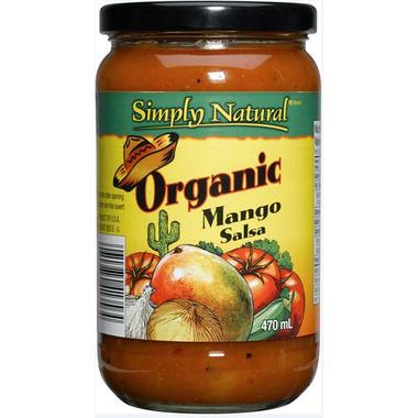 Simply Natural Organic Mango Salsa