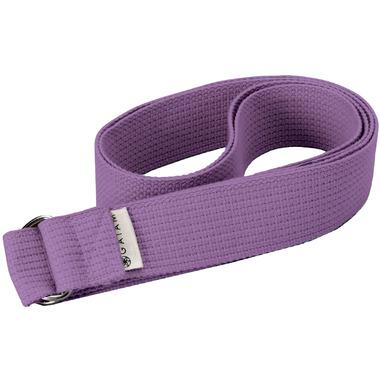 Gaiam 6 Foot Yoga Strap Purple