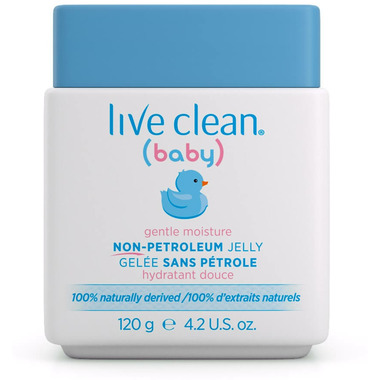 Live Clean Baby Gentle Moisture Non-Petroleum Jelly