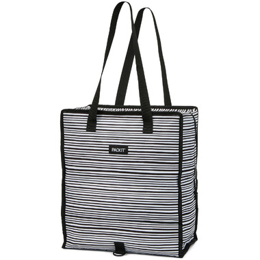 PackIt Grocery Bag Wobbly Stripes
