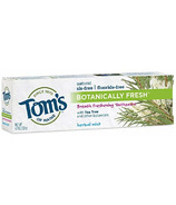 Tom's Of Maine Botanically Fresh Breath Freshening Toothpaste Herbal Mint