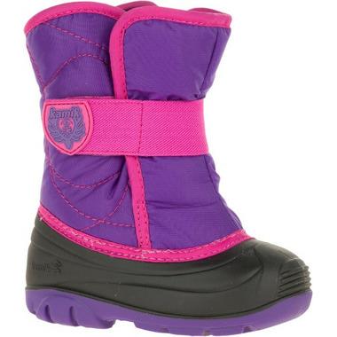 Kamik Snowbug3 Kid\'s Boots Purple & Magenta