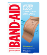 Band-Aid Tough Strips Waterproof Bandages