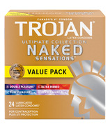 Trojan Naked Sensations Ultimate Collection Variety Pack Lubricated Condoms