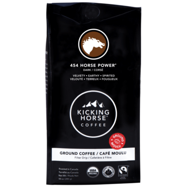 Kicking Horse Coffee 454 Horse Power Ground Coffee