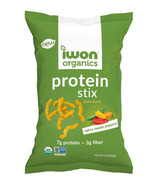 iWon Organics Spicy Sweet Peppers Protein Stix