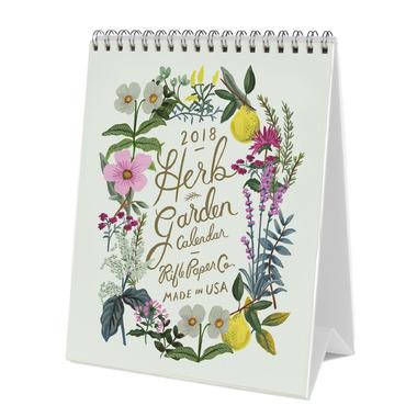 Rifle Paper Co. 2018 Herb Garden Desk Calendar