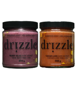 Drizzle Cacao Luxe Raw Honey & Berry Bliss Raw Honey Bundle